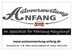 Autoverwertung Anfang