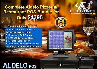 Aldelo 2013 Pos Pizzeria Bar Night Club Complete System