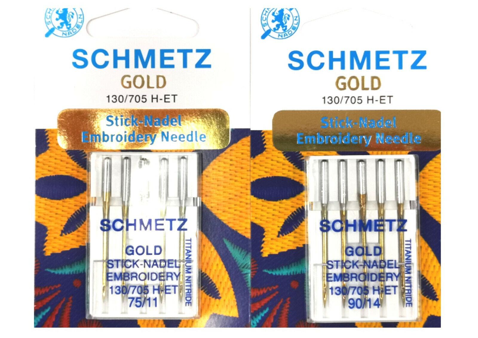 5 SCHMETZ Jeans Nadeln 130//705 H-J Stärke 90-110//14-18 Nähnadeln Nähmaschine