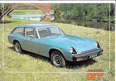 JENSEN GT Brochure 1975