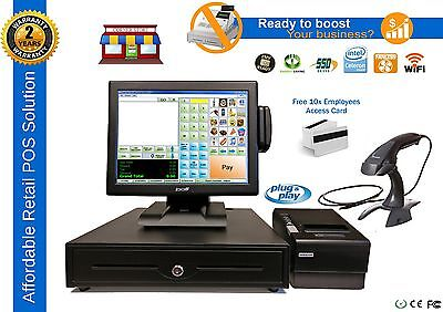 Retail All-in-one Point Of Sale Complete System Corner Store Pos