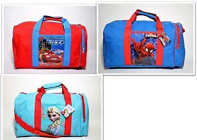 Sporttasche Cars Spiderman Frozen für kleine Kids Reisetasche 39 cm (Cars Für Kids)
