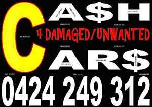 Cash 4 Damaged/unwanted Cars, Vans, Utes, Jetskis, Motorbikes Campbelltown Campbelltown Area Preview