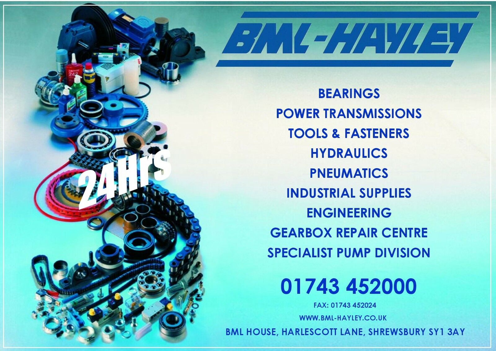 Bearing Man Ltd (BML-Hayley)