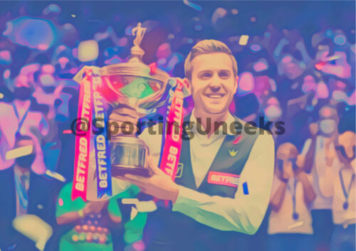 Print 9- Mark Selby Wins The 2021 Snooker World Championships