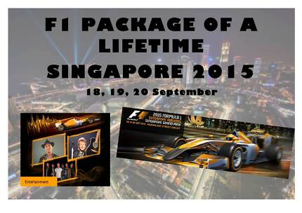 F1 Package - Singapore 2015 Blaxland Blue Mountains Preview