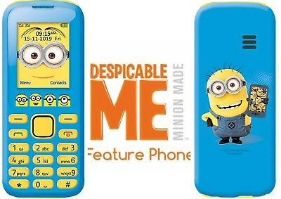 LEXIBOOK MINIONS FACTORY UNLOCKED NO CONTRACT 2G DUAL-SIM PHONE 4 KIDS +OTHERS#£