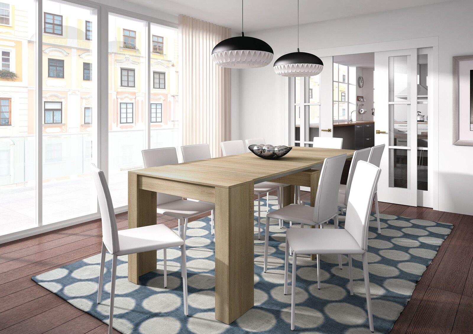 Mesa de comedor consola extensible mesa cocina mesa for Mesa comedor extensible gris