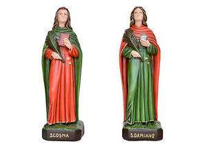 Saint-Cosmas-and-Damian-resin-statue-cm-60-with-glass-eyes
