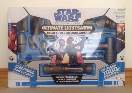 STAR WARS ULTIMATE LIGHTSABER BUILDER South Perth South Perth Area Preview