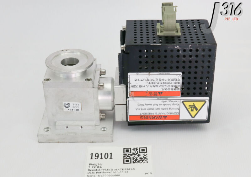 19101 Applied Materials Throt Assy Dual Spring C-plug 0010-37148