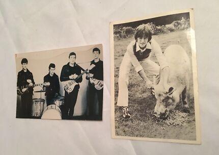 Beatles / John Lennon photos x 2 (authentic originals) 1960's