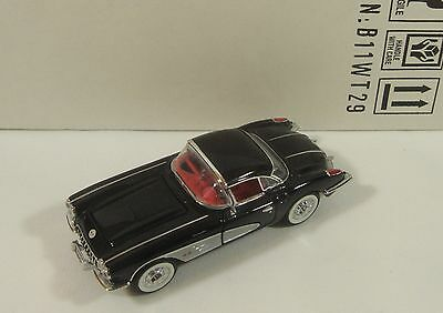 1958 Chevrolet Corvette In Box Franklin Mint 1:43 Scale Die-Cast