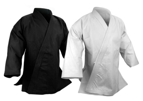 14 oz Ultra Heavy Karate Jacket Uniform Martial Arts Gi Black or White