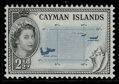 CAYMAN ISLANDS QEII SG153, 2½d turquoise blue & black, M MINT.