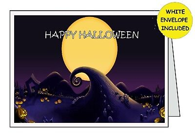THE NIGHT BEFORE CHRISTMAS Handmade Halloween Card                 All Occasions