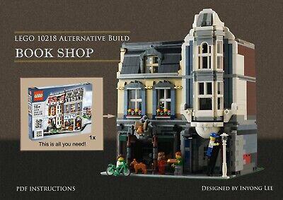 Lego building instructions 10218 Pet Shop Alternative Build