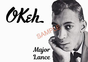 Northern Soul - Major Lance Self Created Poster/Photo Print