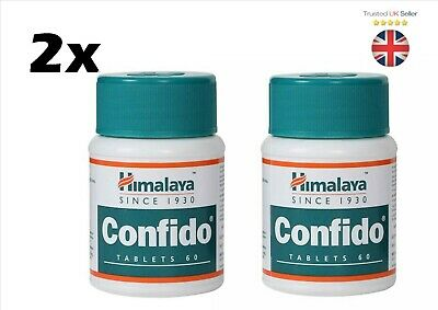 2x Himalaya Confido Tablet ENHANCES Strong Sexual Erections Herbal 60 capsule*UK