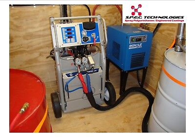 Graco Starter Rig Spray Foam Equipment Rig Machine..dont Buy A Bunch Of Junk