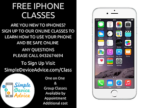 Free online iPhone classes Garden Suburb Lake Macquarie Area Preview