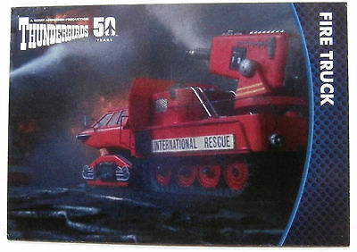THUNDERBIRDS 50 YEARS - Card #52 - Gerry Anderson - Unstoppable Cards Ltd 2015