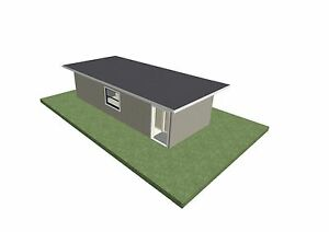 Transportable container home/house/office/cabin, 43sqm, steel fra Anna Bay Port Stephens Area Preview