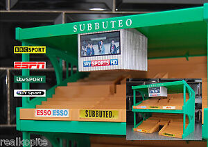 TV Gantry for Subbuteo/Zeugo Stadium Grandstand