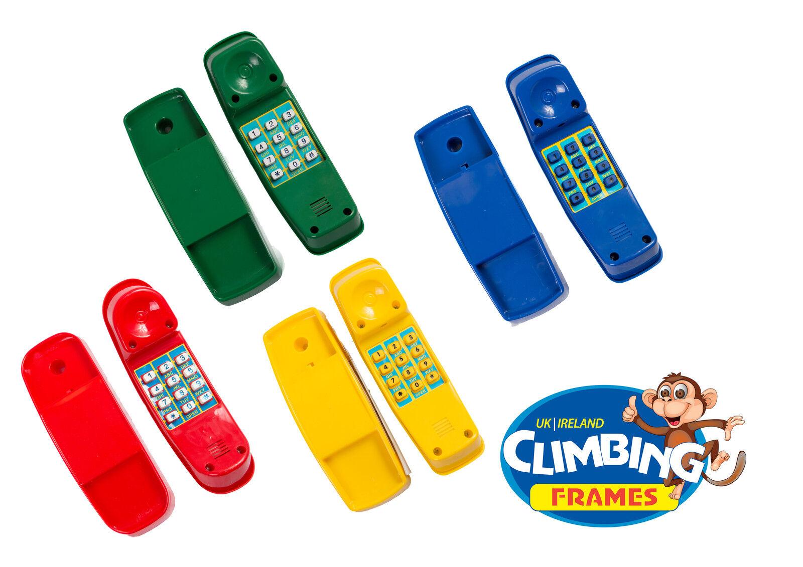 Niños Teléfono PLAY teléfono- Trepador Estructura Casita de juegos ...