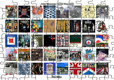 The Who Rock Group Album cover   JIGSAW PUZZLE A4 120 PIECE Free Posting