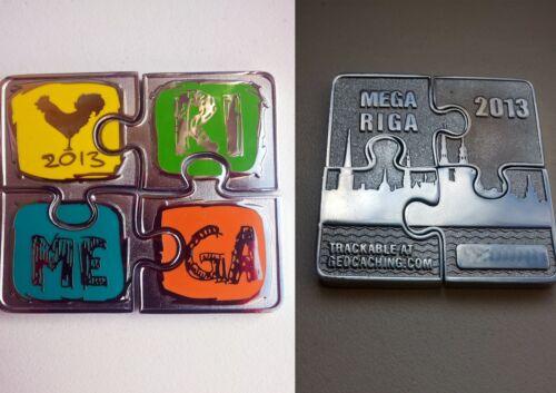 MEGA RIGA 2013 GEOCOIN - Puzzle - LIMITED EDITION