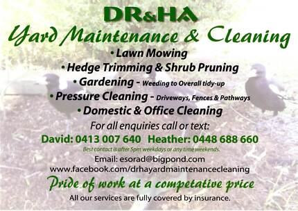 DR&HA Yard Maintenance & Cleaning Rangeville Toowoomba City Preview