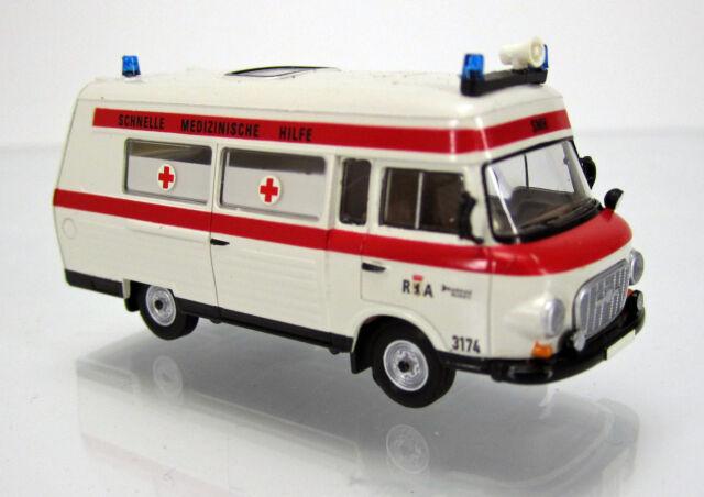 "Brekina 30403 IFA Barkas B 1000 SMH 3 "" Rettungsamt Berlin - DRK DDR """