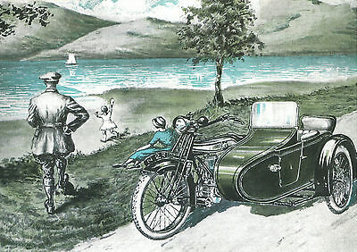 1923 Norton Motorcycles poster