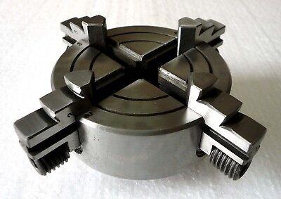 4-jaw X 2-34 Independent Chuck M14x1 Metric Thread 3-58 Od Grip Unimat 3 New