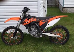 2013 ktm350sxf and timbersled st120
