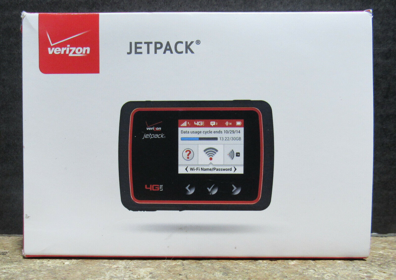 Verizon Unlimited 4G LTE Data And MiFi 6620L Jetpack Mobile