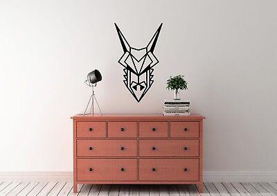 Geometric Dragon Inspired Design Home Decor Wall Art Decal Vinyl Sticker