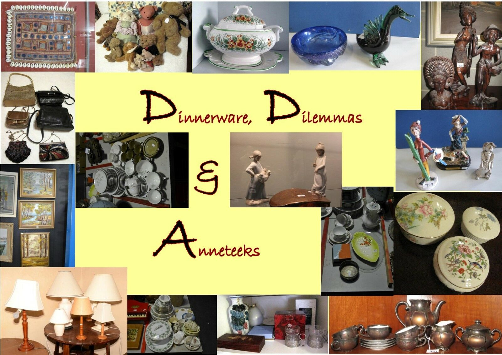 Dinnerware Dilemmas and Anneteeks