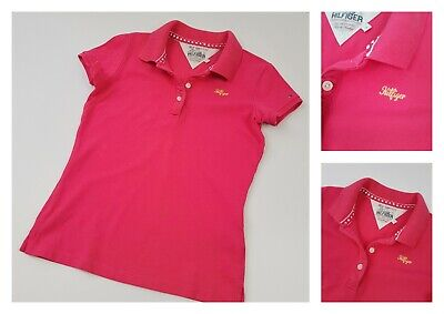 TOMMY HILFIGER ✮ edles Polo Shirt ✮ Pink ✮ 146 - 152 ✮ 12 Jahre