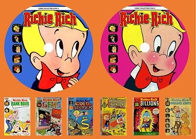 Richie Rich Comic Collection 3 On Two DVD Roms