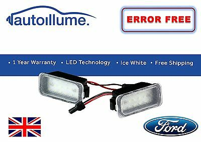 Ford Fiesta Mk7 Mk7.5 ZETEC S ST 18 SMD LED Number Plate Light Units