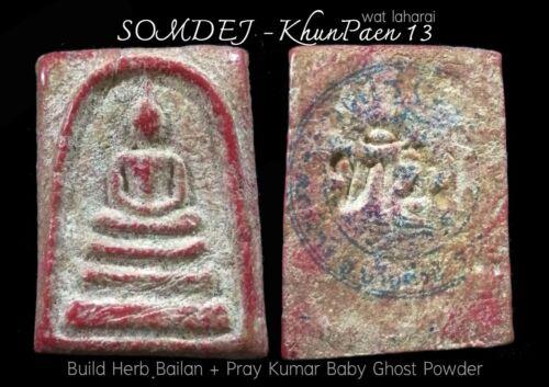 "Phra Somdej ""Phra Khun Paen 13"" Pray Kumarn+Holy Herbs (LP. TIM) Wat LaHanRai"