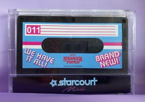 Retro Cassette Wireless Speaker from Stranger Things Drive Into Experience