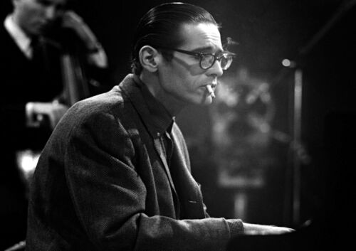 "Reproduction ""Bill Evans"" Poster, Jazz, Wall Art, Vintage Print, Size A3"