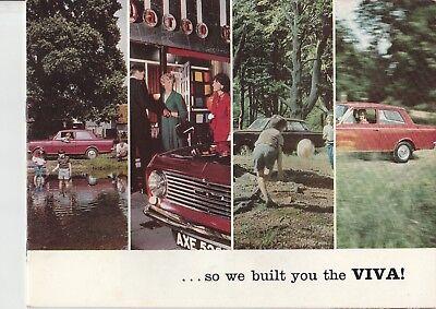 Vauxhall Viva HA Brochure - 1965