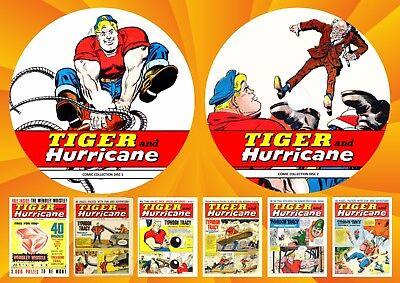 Tiger & Hurricane UK Comics ON Two DVD Rom's