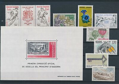 LO15711 Andorra mixed thematics nice lot of good stamps MNH