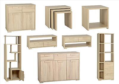 Cambourne Living Room Furniture - Sideboard Tables Display Units - Sonoma Oak