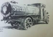 Shell Oil Australia 1928 Mount Lawley Stirling Area Preview